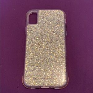 Casemate IPhone XR sparkly cell phone case